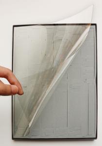 中敷きウレタン+透明PET板